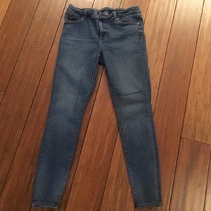 LOFT medium wash jegging